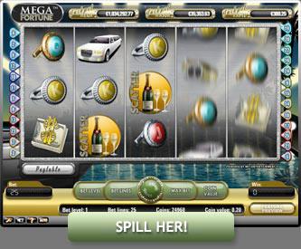 Mega Fortune – Spill Mega Fortune gratis på nett