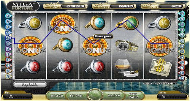 å spille en spilleautomat
